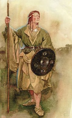 Scathach Irish Mythology | came across this formidable lady when I was looking for the Children ...
