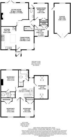 3 Bed Dormer Bungalow Plans Google Search Cheveral House - Dormer Bungalow Floor Plans