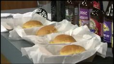 The Jack Brown's owner stopped by our News at Noon today to talk about some of his yummy specialty burgers. One of them has brie and apples.