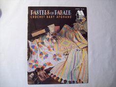 Pastels on Parade Crochet Baby Blanket Pattern by CozyHomeCrochet