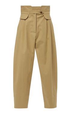 Sea Kamille Work Pant In Neutral Kpop Fashion, Fashion Pants, Fashion Dresses, Outfit Elegantes, Fashion Details, Fashion Design, Loose Pants, Mode Hijab, Pants Pattern