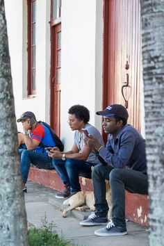 Searching for wifi signal . Viñales Cuba