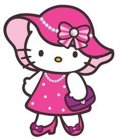Hello Kitty - stylish Sanrio Hello Kitty, Hello Kitty Clipart, Hello Kitty Art, Hello Kitty My Melody, Hello Kitty Pictures, Here Kitty Kitty, Sanrio Wallpaper, Hello Kitty Wallpaper, Little Twin Stars