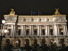 Amazing photos from Stylishlyme's trip to france in April. Le Opera, Eiffel Tower, Le Palais Royal and other amazing site in Paris France. Paris At Night, Most Beautiful Cities, Beautiful Buildings, Amazing Places, Tour Eiffel, Monuments, Charles Garnier, Disneyland, Paris Tour