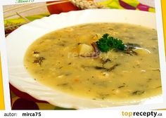 Kulajda Czech Recipes, Ethnic Recipes, Cheeseburger Chowder, Food And Drink, Menu, Treats, Cooking, Soups, Recipies