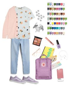 """""""Sting // Stellar"""" by owlenstar ❤ liked on Polyvore featuring Vans, Monki, Être Cécile, Chloé, Acne Studios, Case Scenario, Samsung, Too Faced Cosmetics, MAC Cosmetics and OPI"""