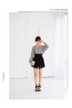#다홍 #dahong #daily #데일리 #스커트 #skirt #캉캉스커트