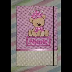 Case para cartão de vacinação!  Ursinha !!