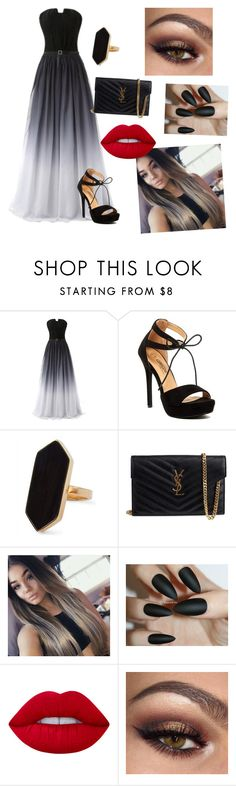 """Untitled #260"" by evebadauskaite ❤ liked on Polyvore featuring Jaeger and Yves Saint Laurent"