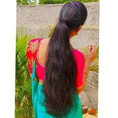 Long Hair Ponytail, Ponytail Hairstyles, Long Hair Styles, Beauty, Beautiful, Cosmetology, Long Hairstyles, Long Hair Cuts, Long Hairstyle
