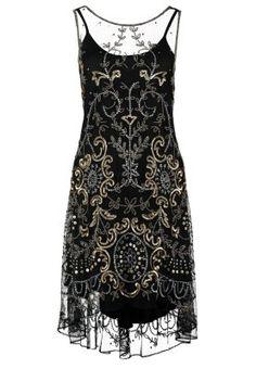 Bestill Miss Selfridge DANIELE - Sommerkjole - black for kr 1195,00 (02.01.15) med gratis frakt på Zalando.no