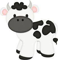 Personajes Farm Animal Party, Farm Party, 2 Baby, Baby Art, Cow Clipart, Barn Parties, Baby Cows, Clip Art, Farm Birthday