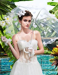 Lace Wedding Umbrella With Appliques. Get unbelievable discounts up to 70% Off at Light in the Box using Coupons.