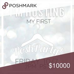 🍾HOSTING MY 1st POSH PARTY 🍾IT'S PARTY TIME🍾 I am super excited to announce that I am       hosting my very 1st Posh Party! Join me!           DATE: FRI, 10/7          TIME: 7PM PST          THEME + CO-HOSTESSES: TBA  RSVP: Tag your lovely closets below for Host Pic consideration as well as your closet crushes!                               💌Like this listing to be updated on the Party Theme once it's been revealed! 💌                LET'S PARTY! 🍾 Helmut Lang Dresses