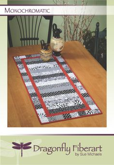 "Easy 2 1/2"" strips make this great runner. The cutoffs from the center section make the border. Fast & Fabulous!"