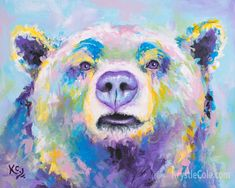 Matted Black Bears and Cabin Foil Art Print~Affordable Art~8x10 Animal