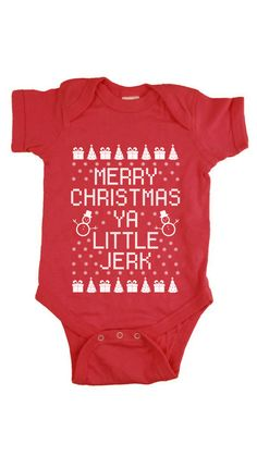 Christmas Onesie Christmas Creeper Merry by StrongGirlClothing