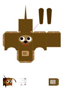 Sinterklaas surprise box hond diy