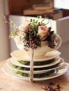 centerpiece for a wedding reception table