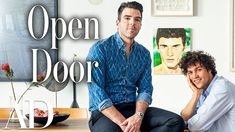 In this episode of Open Door, actor Zachary Quinto (Spock in the 'Star Trek' film reboot) and his boyfriend, artist and model Miles McMillan, welcomed Archit. Miles Mcmillan, Star Trek Reboot, Interior Design Videos, Zachary Quinto, Artists And Models, Architectural Digest, Beautiful Space, Roman Shades, Innovation Design