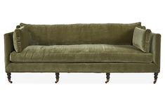 Fabulous velvet sofa on sale!