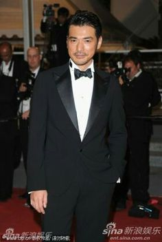 Takeshi Kaneshiro in Cannes House Of Flying Daggers, Takeshi Kaneshiro, Acting Skills, Black Tie Affair, Asian Actors, His Eyes, Cannes, Handsome, Husband