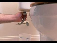 Replacing a toilet isn't as messy or hard as you may think!  A Lowe's plumber expert will teach you how to do the job right!