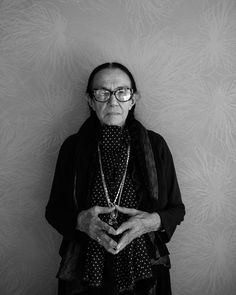 Mary Ellen Mark (1940-2015) - American photographer. Photo © Eric Johnson, Palm Springs photo Festival, 2015