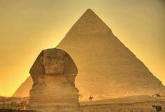 The Geat Pyramid at Giza, Egypt, is the only Wonder of the 7 Wonders of the Ancient World that still exists. At 146,61m, it is the highest pyramid of Egypt. It was built by the architect Hemiunu with 2.300.000 bricks during Keops' reign (XXVI c.B.C.) to become Keops' future tomb. Photo: Google Images.