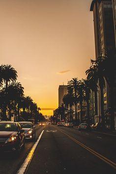 "worldfam0us: "" Los Angeles Sunset | WF """