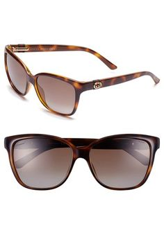 Gucci 56mm Retro Sunglasses available at #Nordstrom