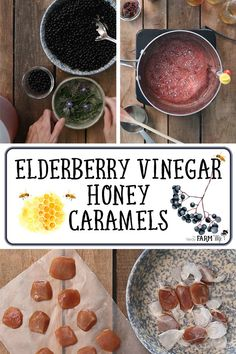 Apple cider vinegar + elderberries combine with honey, butter & vanilla to make these delicious antiviral honey candies. # Food and Drink videos cider vinegar Elderberry Vinegar Honey Caramels Apple Cider Vinegar Remedies, Elderberry Recipes, Elderberry Syrup, Elderberry Medicine, Herbal Medicine, Caramel Recipes, Honey Recipes, Real Food Recipes, Handmade Soaps