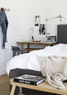 Summer white bedding