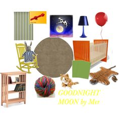 My Goodnight Moon-inspired Nursery.  Maybe for Baby #2?  (NOT on the way!)