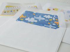 super cute envelope inserts