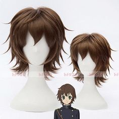 Anime Seraph of the End Yoichi Saotome Cosplay Wig+ Free Cap + Free shipping