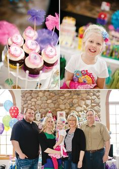 Cute  Colorful Disney Princess Birthday Party