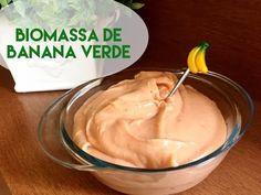 Como fazer biomassa de banana verde - Lactose Não por Flavia Machioni