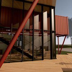 #arquitetura #architecture #container #food #steel