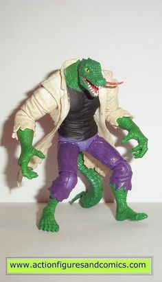 marvel universe LIZARD spider-man sewer clash hasbro toys action figures