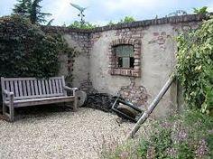Eine Gartenmauer Im Stil Einer Ruine Aus Sandstein   Ruinenmauer   Garden  Wall Ruin Inspiration   Pinterest   Gardens