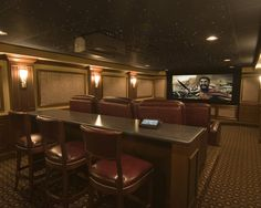 Media Room Theater Rooms Design, Pictures, Remodel, Decor and Ideas - page 3