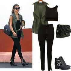 #selenagomez #fashionista #glam #jeans #chanel #diva