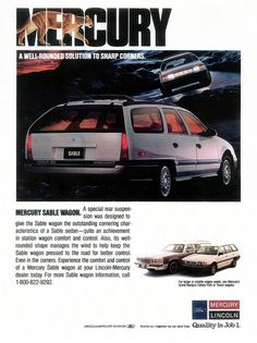 1989 Mercury Station Wagons (USA) by IFHP97, via Flickr  My first wagon was a 1989 1/2 Mercury Tracer. Yes, you read right. 89 and a half. It sported a Mazda 323 engine. I drove it to 210,000 miles.