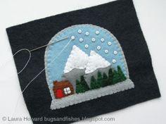 http://bugsandfishes.blogspot.de/2013/12/how-to-felt-snow-globe-ornament.html