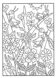 SPARK Bugs Coloring Ebook 5 pattern pages coloringsheets is part of Summer coloring sheets - Summer Coloring Sheets, Insect Coloring Pages, Unique Coloring Pages, Spring Coloring Pages, Free Coloring Sheets, Coloring Pages For Boys, Printable Adult Coloring Pages, Flower Coloring Pages, Disney Coloring Pages
