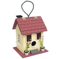 Bird Houses and Feeders from Rex London - the new name for dotcomgiftshop. Great value gifts and homeware in original designs. Cool Bird Houses, Woodlands Cottage, Fairy Garden Houses, Home Living, Home Organization, Garden Inspiration, Wind Chimes, Summer Fun, Greenery
