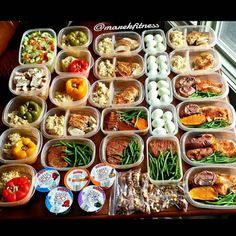 Merry Christmas Eve prepsters! Gift your body with a...   Merry Christmas Eve prepsters! Gift your body with a incredible healthy meal prep plan like this!  by @marekfitness  bravo sir! - 1. Baked spicy (Hungarian paprika) tilapia with green beans and sweet potatoes 2. Chicken breast with basmati rice 3. Eye round steak with green beans and sweet potatoes (one meal only) 4. Stuffed colored peppers with lean turkey and sautéed onions celery and tomatoes and with the browm rice 5. Huge…
