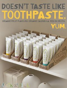 It's what you've been waiting for...you can now PRE-ORDER your Jack N'Jill natural oral hygiene products. Organic toothpaste, biodegradable toothbrushes, rinse cups, and sleepover bags are all available. We anticipate the shipment to arrive by the end of January. Get yours today!!!! www.theorgaicbabylife.com