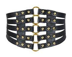 Apparel Accessories Dashing New Design Hollow Out Flower Lace Waist Belts Wide Lace Elastic Corset Waist Band Buttons Elegant Ladies Shirt Dress Belts